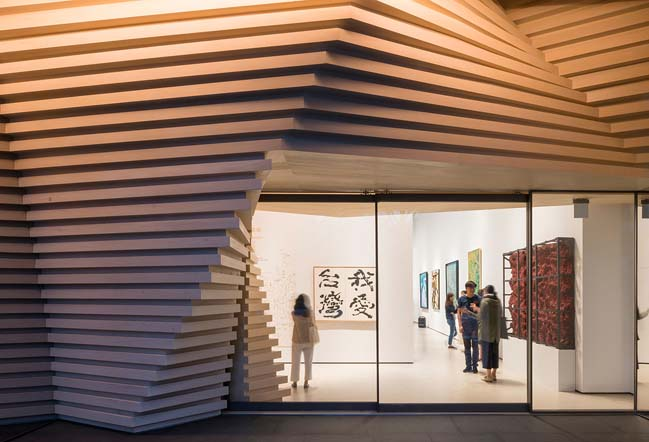 Whitestone Gallery Taipei by Kengo Kuma and Associates