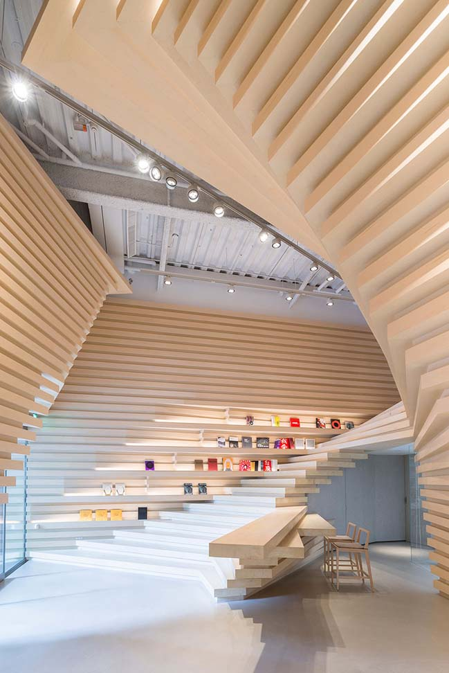 Whitestone Gallery Taipei by Kengo Kuma and Associates
