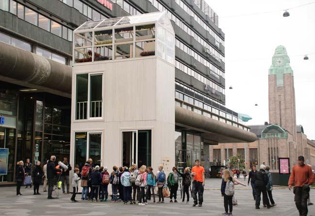 Micro apartment building by Casagrande Laboratory