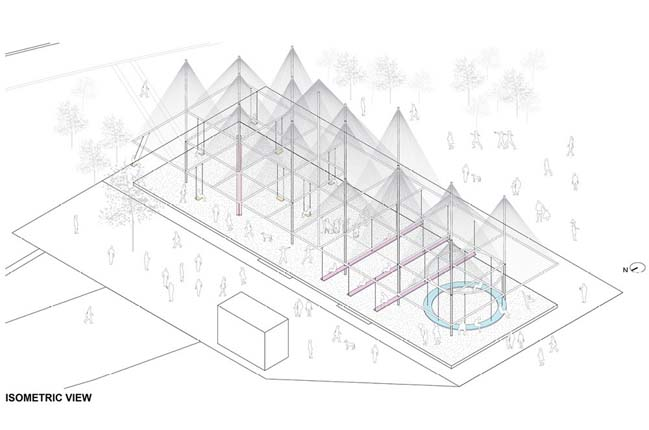 18 Peaks Pavilion by Studio Kota Architecture