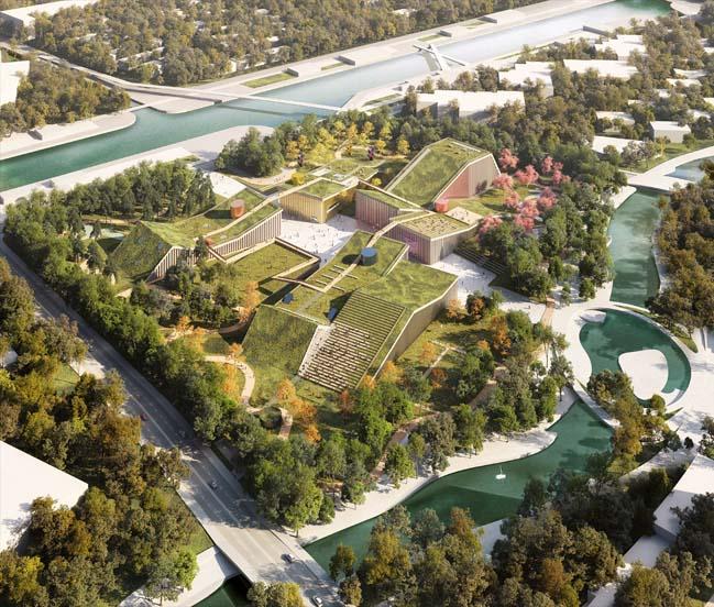 MVRDV win competition for Zhangjiang Future Park
