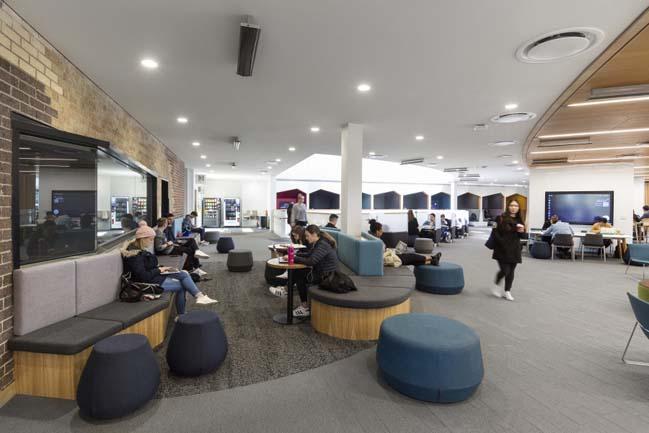 Deakin University Burwood Student Plaza by Thomson Adsett