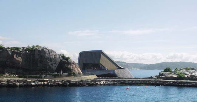 First underwater restaurant in Norway by Snøhetta