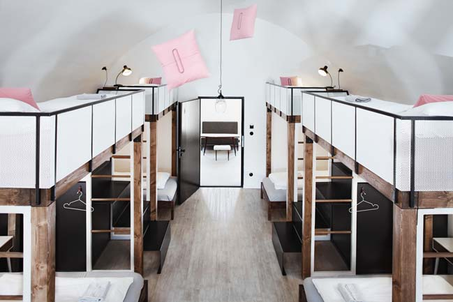 Long Story Short Hostel by Denisa Strmiskova Studio
