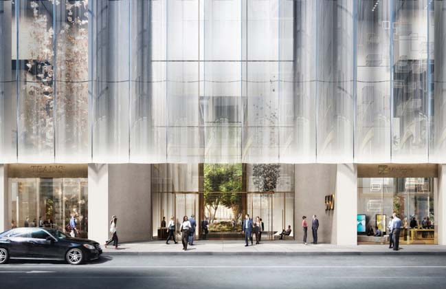 Snøhetta selected to reimagine 550 Madison Avenue in NY