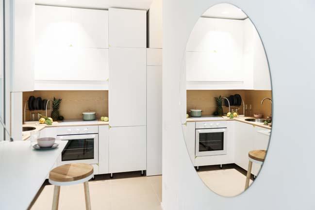 Small 29sqm apartment by Planair Studio