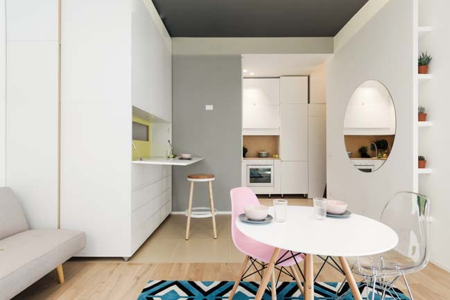 Small 29sqm apartment by Planair Studio