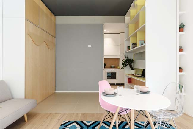 TAAAC! Apartment by Planair Studio