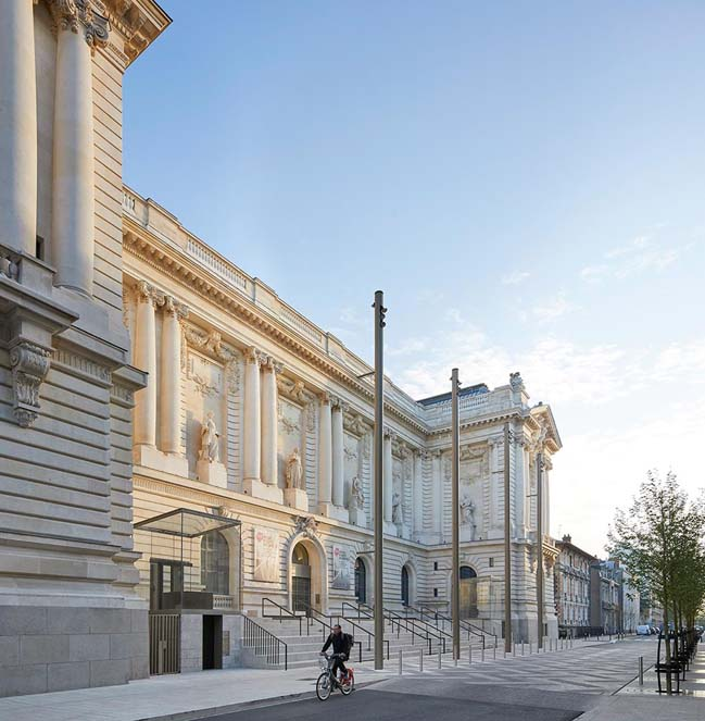 Mus e d arts de nantes by stanton williams architects - Musee des beaux arts nantes ...