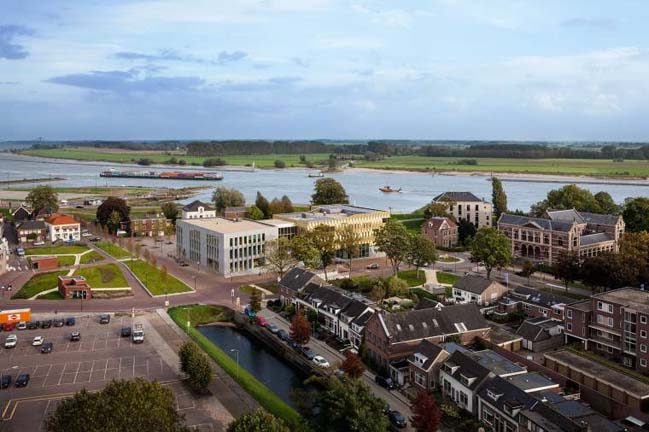 Culture cluster Zinder in Tiel by De Zwarte Hond