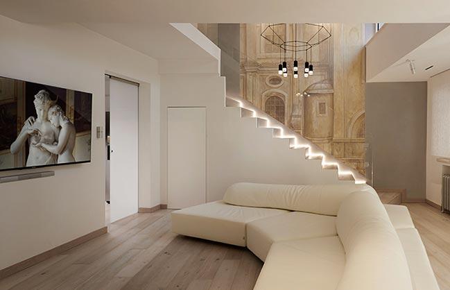 Navona Penthouse by Carola Vannini Architecture