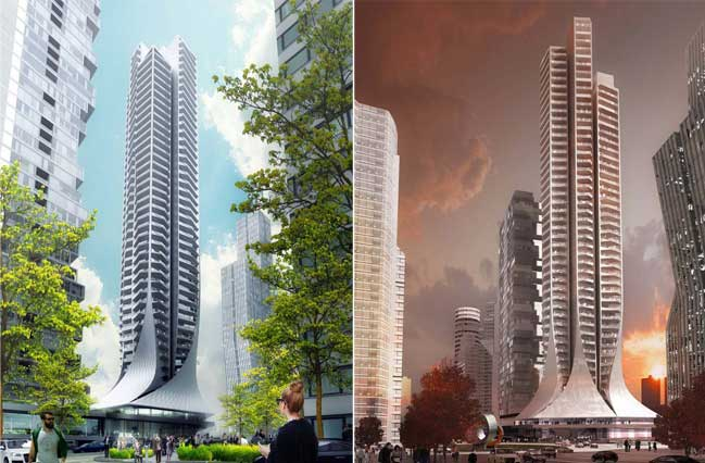Zaha Hadid Architects works begin on Bora Residential Tower