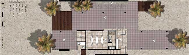 Luxury modern villa in Mexico by R79