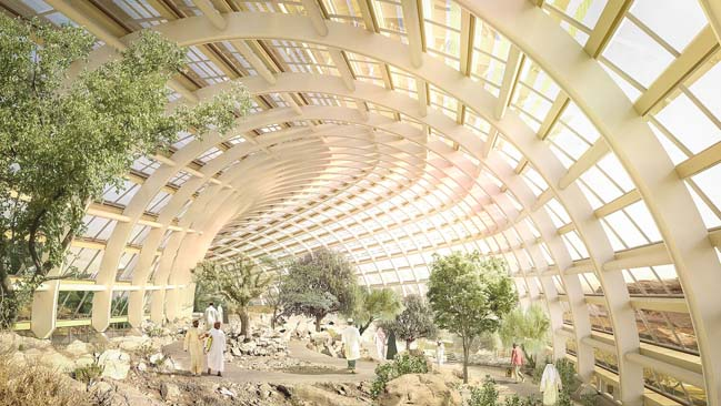 Oman Botanic Garden by Grimshaw Architects
