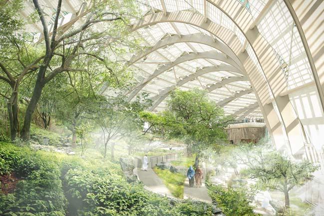 Oman Botanic Garden by Grimshaw Architects