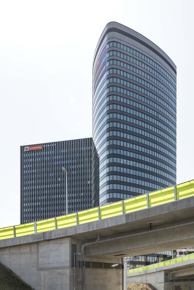 ORBI Tower by Zechner & Zechner Architects