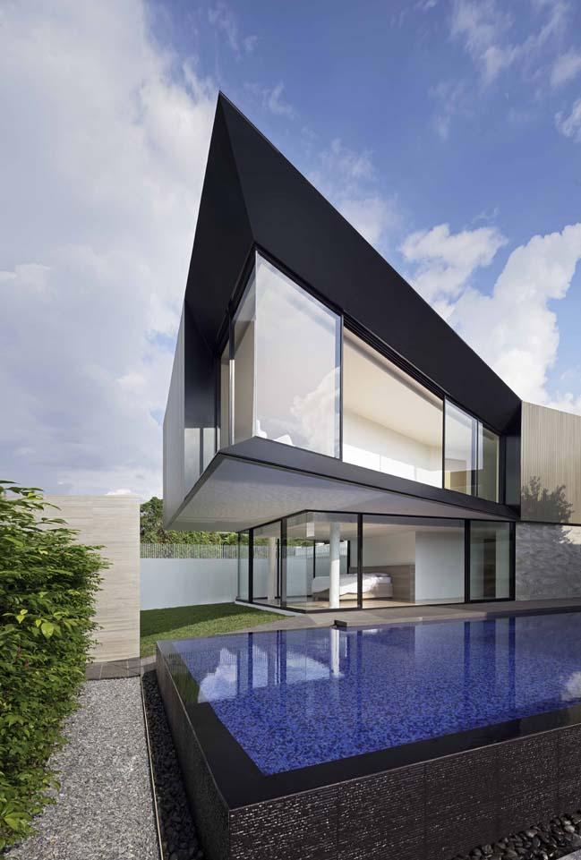 Luxury modern villa in Thailand by Ayutt and Associates design