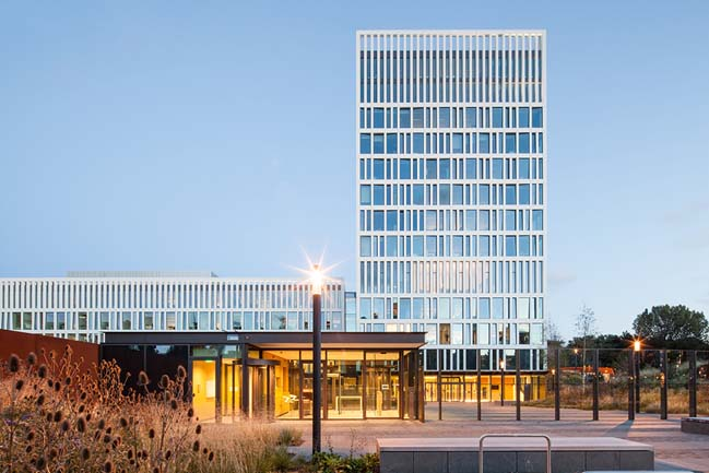 Eurojust headquaters by Mecanoo
