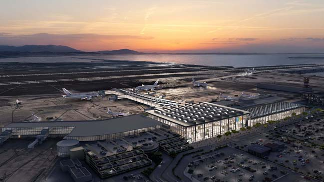 Foster + Partners wins Marseille Airport extension competition