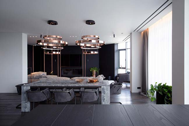 PecherSKY apartment by YØ DEZEEN studio