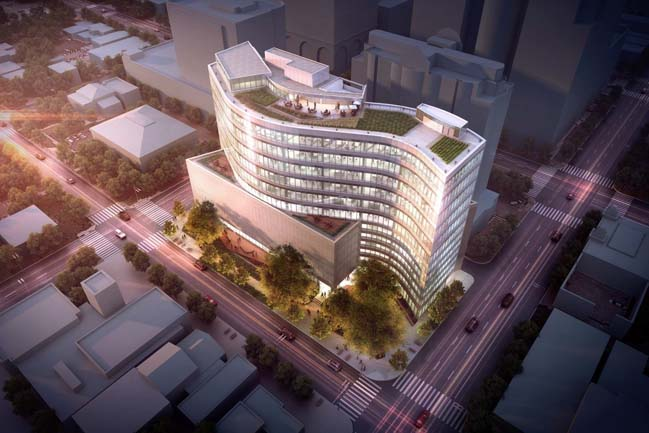 SXSW Headquarters Breaks Ground by Pei Cobb Freed & Partners
