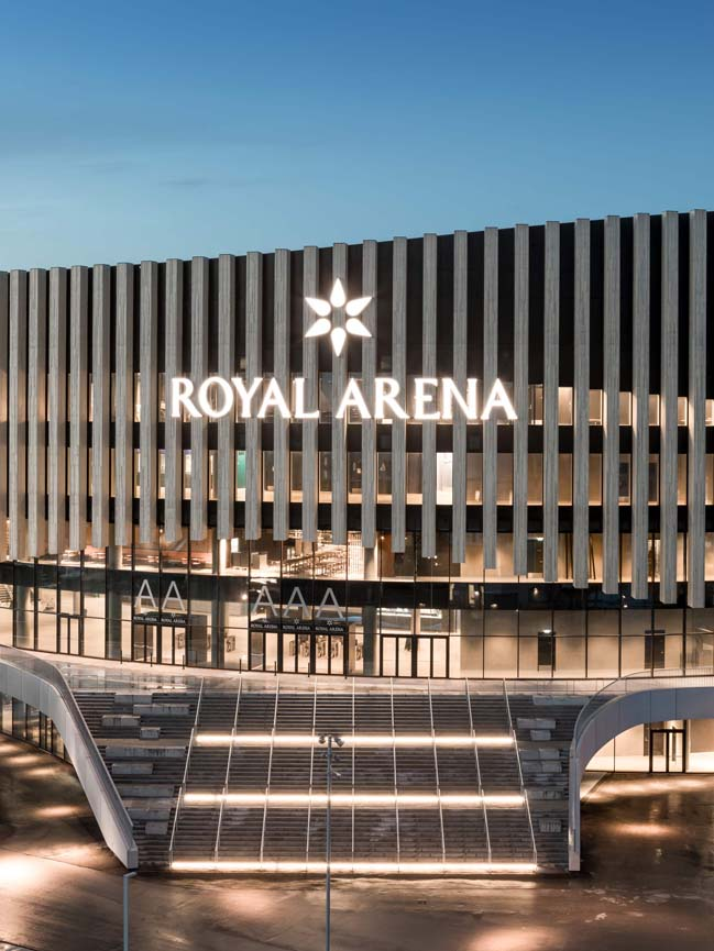 Royal Arena by 3XN Architects