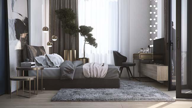 Twilight Apartment by MUSA Studio