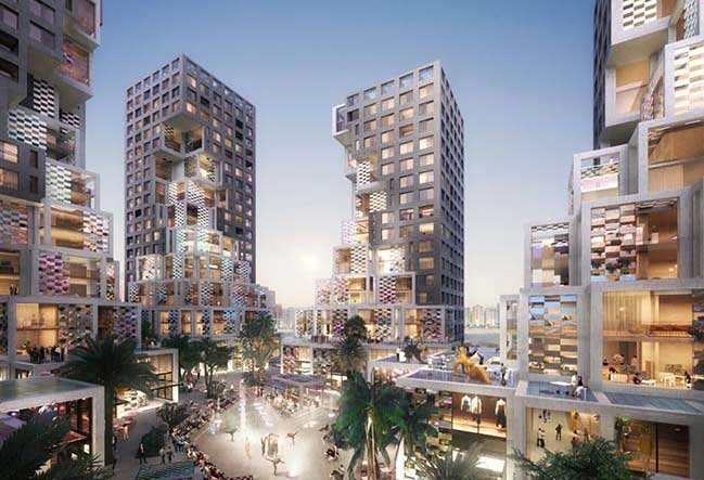 Pixel in Abu Dhabi by MVRDV