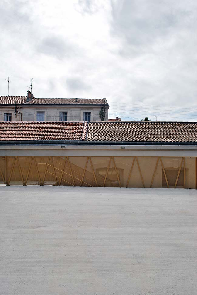 Rehabilitation of Louis Figuier - Victor Hugo School Group by NAS Architecture
