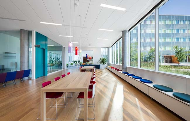 Ericsson's New Montreal Office by Menkès Shooner Dagenais LeTourneux Architectes