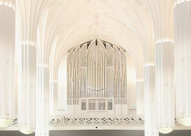 Paulinum University Leipzig by Erick van Egeraat