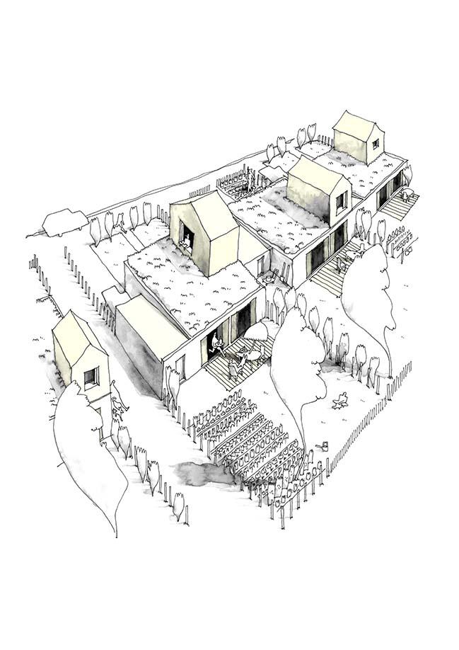 Eco Cit La Garenne By Guillaume Ramilien Architecture
