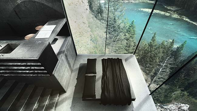 Maralah - Conceptual Cliff House by LAAV Architects