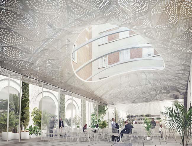 Oval Court by Tonkin Liu