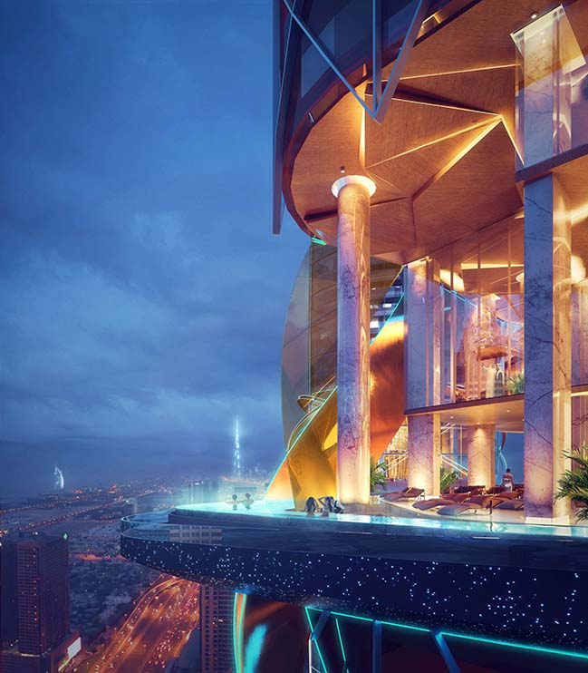 Rosemont 5 Star Hotel and Residences by ZAS Architects