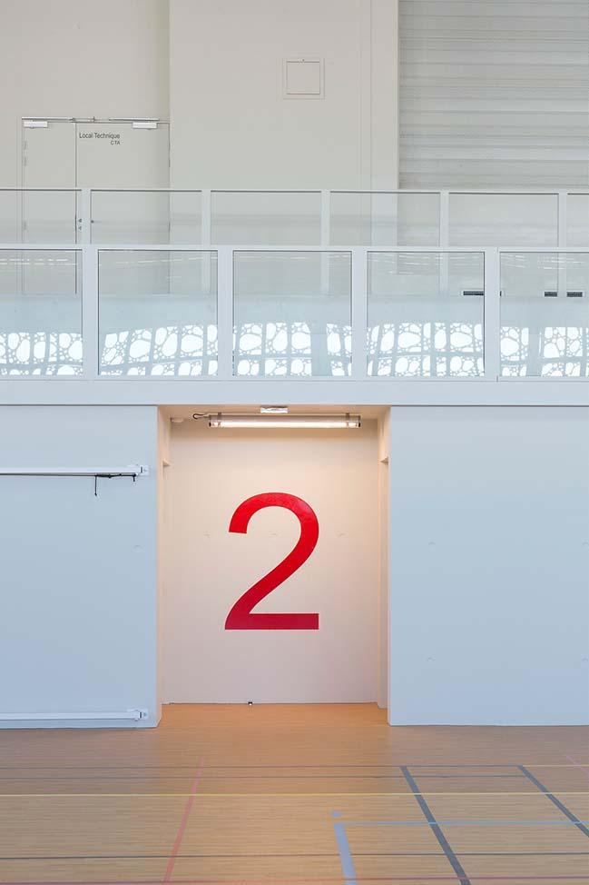 Sports Hall Jean-Louis Trintignant in Uzès by NBJ Architects