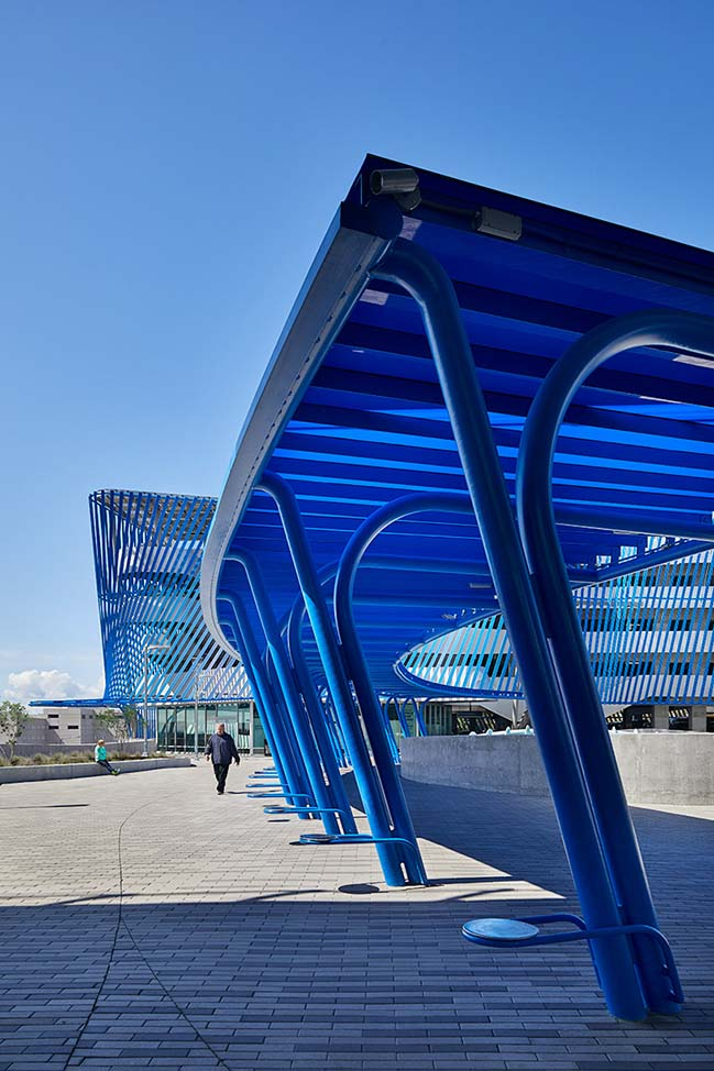 Angle Lake Station and Plaza by Brooks + Scarpa