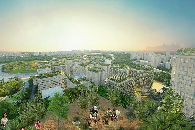 Jurong Lake District Singapore by KCAP