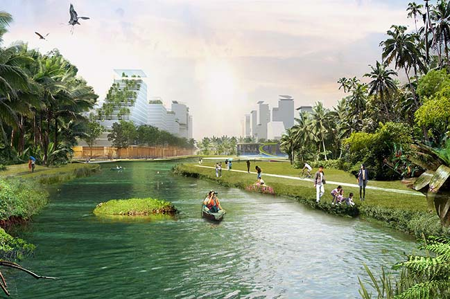 Jurong Lake District Singapore by KCAP