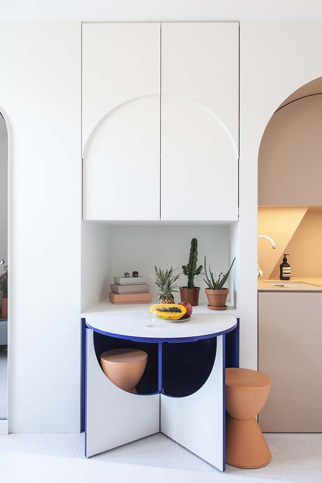 Tiny House 11sqm in Paris by Batiik Studio