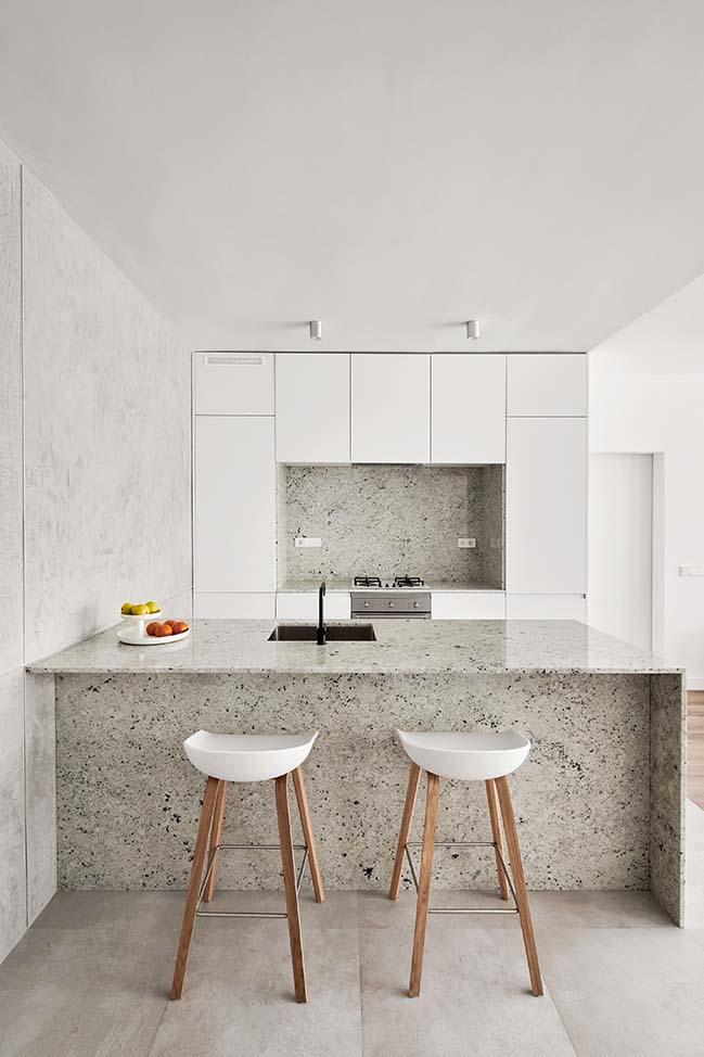 Villarroel Apartment in Spain by Raul Sanchez Architects