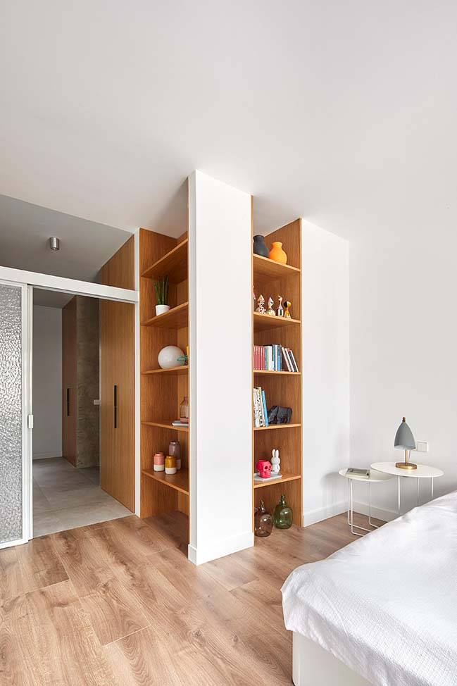 Villarroel Apartment in Spain by Raul Sanchez Architects