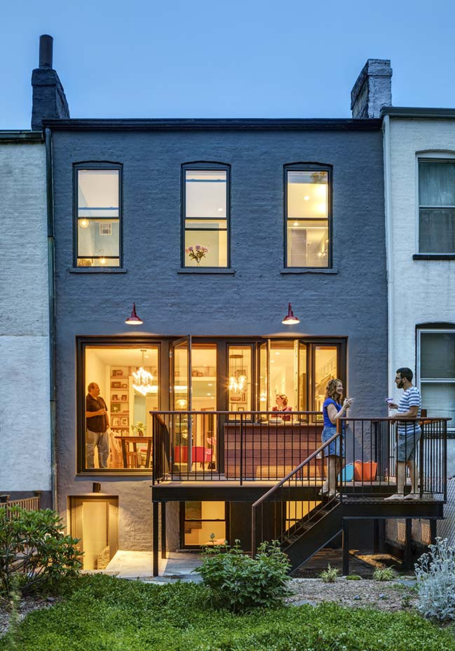 Sherman St Rowhouse by BFDO Architects