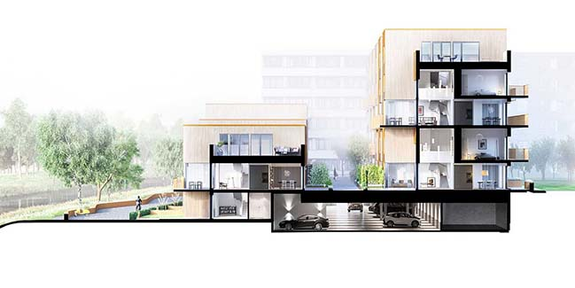 Zenhouses by C.F. Møller Architects