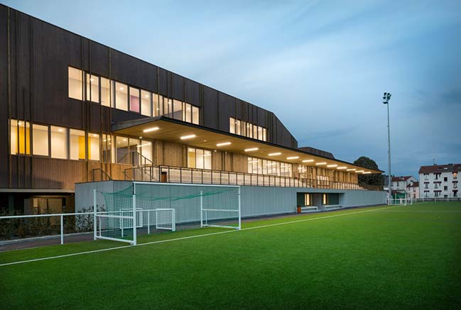 The House of Sports in Bezons by agence ENGASSER & associés