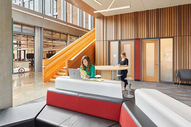 WSU University Center expansion by SRG Partnership