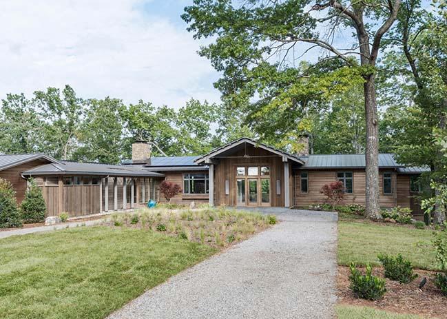 米爾春天的現代農舍,Samsel Architects