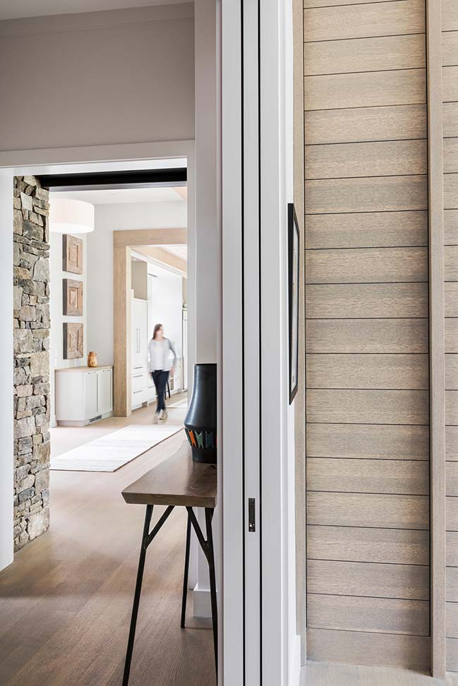 Modern farmhouse in Mill Spring by Samsel Architects