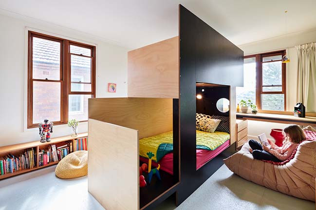 Two Rooms From One For Two Children Aged 8 And 10