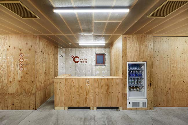 Capsule Hotel in Tokyo by Schemata Architects